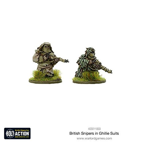 British Snipers In Ghillie Suits ()