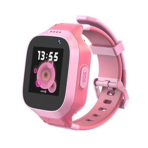 Waterproof 3G GPS Watch for Kids, Laxcido Phone Call SOS Real-time Anti-Lost GPS Tracker, Children Touch Screen Camera Geo-Fence Step Counter Text Voice Message Remote Monitor GPS Smart Watch