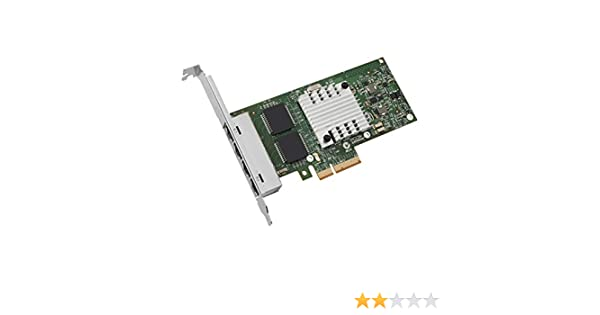 Intel Ethernet Server Adapter I340-T4 1Gbps RJ-45 Copper, PCI
