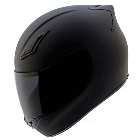 Amazon.com: Duke Cascos DK-120 Full Face Casco de moto mate ...
