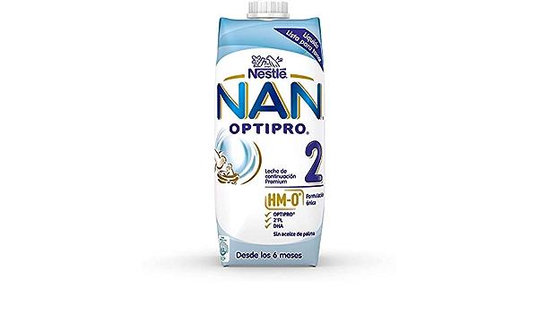 Nan Optipro 2 Líquida, 12 x 500ml: Amazon.es: Alimentación y ...