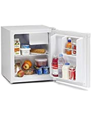 IceKing TK47W 47 Litre Table Top Mini Fridge with Ice Box A+ Energy Rating White