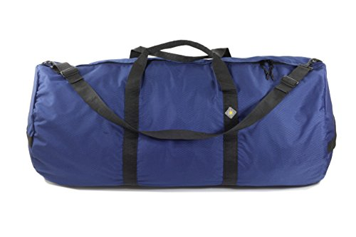 NorthStar Sports 1050 HD Tuff Cloth Diamond Ripstop Series Gear and Duffle Bag, 18 x 42-Inch, Pacific Blue