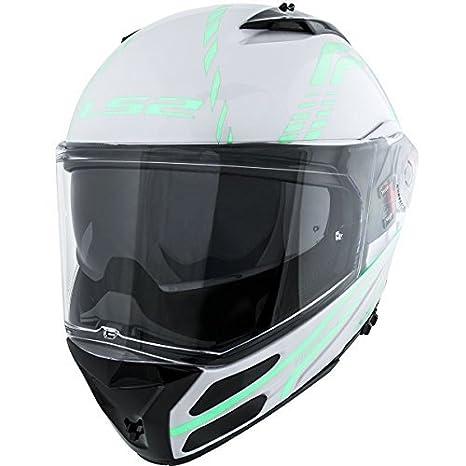 Amazon.es: LS2 Helmets Metro Firefly Modular Motorcycle ...