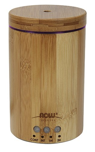 Now Essential Oils, Ultrasonic Real Bamboo Aromatherapy Oil Diffuser by NOW Foods