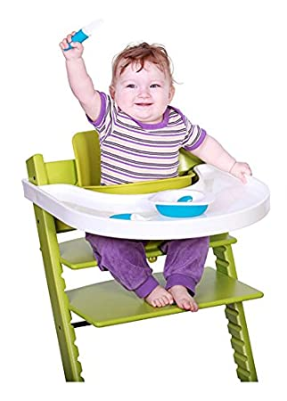 Amazon.com: playtray para Stokke Tripp Trapp, Blanco: Baby