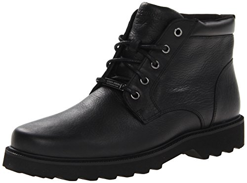 Rockport Men's Northfield WP Plain Toe Chukka Boot- Black Waterproof-9.5 W (Best Looking Offices In The World)