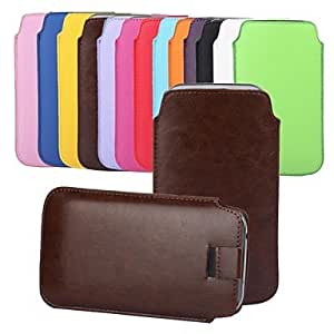 TOPAA Angibabe Pull Tab Leather Skin Pouch Pocket Leather Case for iPhone 6 Plus 5.5 inch , Green