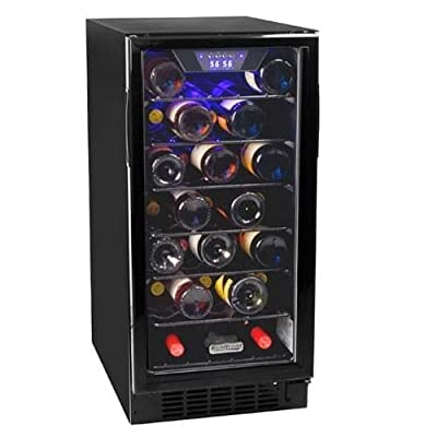 Koldfront BWR300 15 Inch Wide 30 Bottle Built-In Wine Cooler with Slim Design
