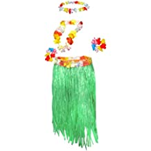 plus size grass skirt