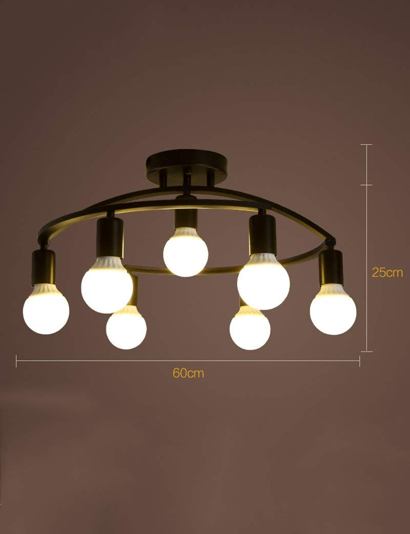 YANG Ceiling Light-Iron Modern Creative Study Simple Lighting Restaurant Bedroom Living Room Energy Saving