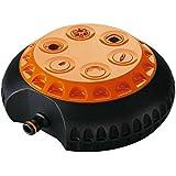 Claber 61945 8654 Irrigatore Multifunzione, Nero/Arancione