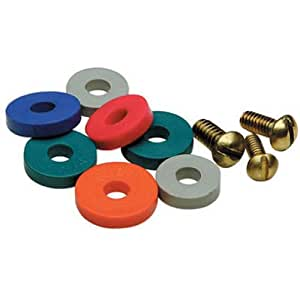 Brass Craft #SC2191 SM Flat Bib Washer ASST