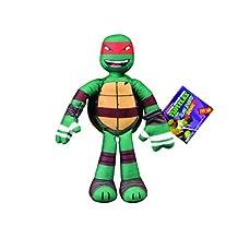 Turtles Teenage Mutant Ninja Sling Shouts Talking Raph Plush Toy