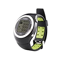 POSMA GT2 Golf Trainer + Activity Tracking GPS Golf Watch Range Finder, Preloaded Golf Courses, no download no subscription, Black. Global courses US, Canada, Europe, Australia, New Zealand, Asia