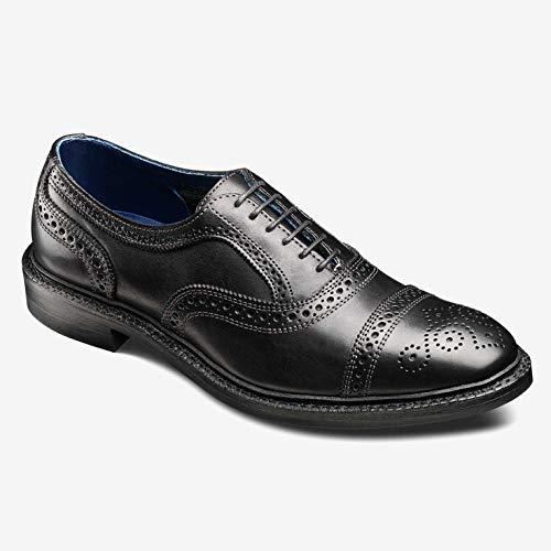 - Allen Edmonds Men's Strandmok Cap Toe Oxford with Dainite Rubber Sole 10.5 E Men 4026 Black Oxfords Shoes