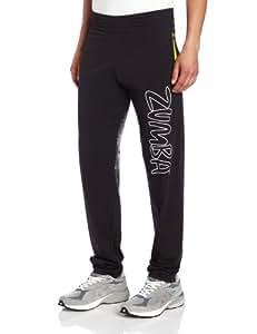 Zumba Fitness Power-Up Jersey Pant, Black, Small