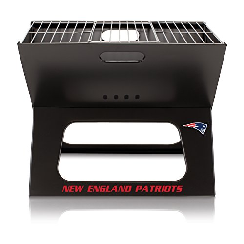 NFL New England Patriots Portable Collapsible Charcoal ()