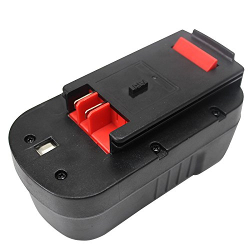Angwel 18V 3000mAh Replacement Battery for Black & Decker HPB18 HPB18-OPE 244760-00 A1718 A18 A18E Firestorm FS180BX FS18BX FS18FL FSB18 NST2118 series -- 1 Year (Cdc Series)