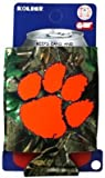 Clemson Tigers NCAA Realtree Camo Can Coolie Koozie For Sale