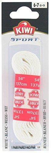 Kiwi 70432 54'' White Sport Shoe Laces