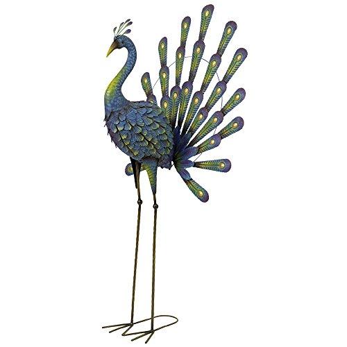 Peacock Metal Garden Sculpture