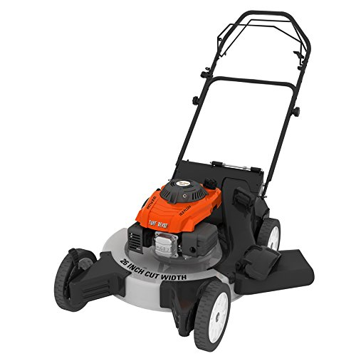 Turf Beast 26FB3M16 26'' 208cc 3-in-1 features bag/discharge/mulch, Rear Wheel Variable Speed Drive w Blade Brake Clutch by Turf Beast
