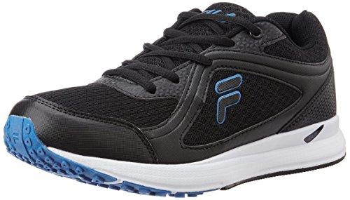 Fila Men's Vannozzo Black and Blue Running Shoes -9 UK/India(43 EU)(10 US)