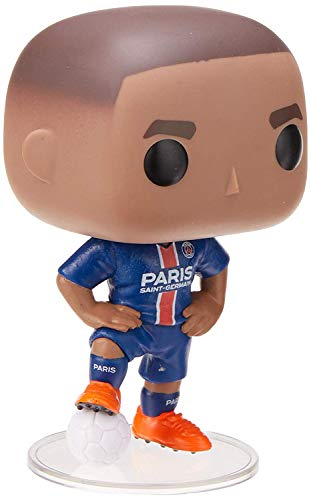 Funko- Pop Vinyl Football-Kylian Mbappe (PSG) Collectible Figure, Multicolor (39828)