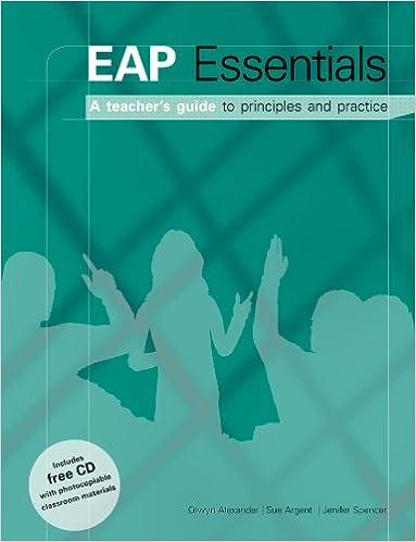 EAP Essentials - A Teachers Guide to Principles & Practice ...