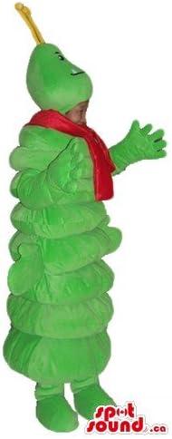 芋虫漫画のキャラクターの動物SpotSoundマスコットカナダ衣装