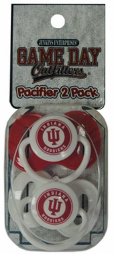 Game Day Outfitters NCAA Indiana Hoosiers Infant Pacifier, One Size, Multicolor