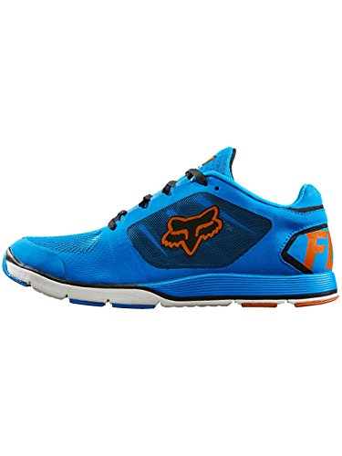 Fox Racing Mens Motion Evo Shoes Footwear, Orange/Blue, (Fox Racing Casual Wear)