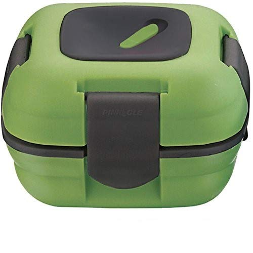 Lunch Box ~ Pinnacle Insulated Leak Proof Lunch Box for Adults and Kids - Thermal Lunch Container With NEW Heat Release Valve, 16 oz ~ Green
