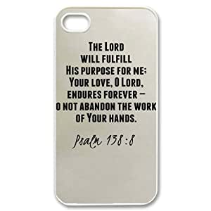 Bible Case For iPhone 4/4s White Nuktoe552095