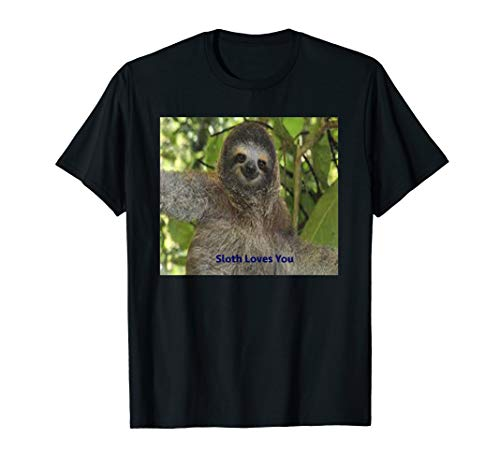 (Giant Sloth Face T-Shirt)