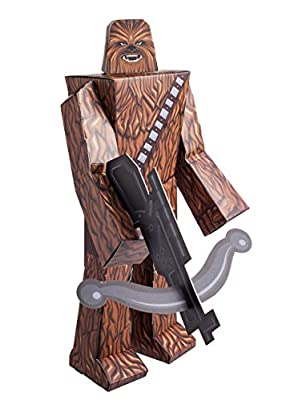"Zoofy International 12"" Chewbacca PDQ Action Figure"