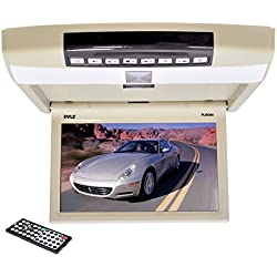 Pyle PLRD94 9.4-Inch Flip Roof Mount Monitor and DVD Player with Wireless FM Modulator/IR Transmitter