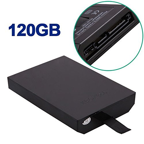 Freelance Shop Electronics 120GB Internal HDD Hard Drive Disk Kit for Microsoft Xbox 360 Slim (Digimon Xbox 360 Games)