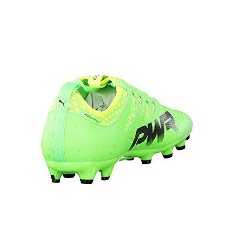 Puma Evopower Vigor 2 Ag, Botas de Fútbol para Hombre verde y negro