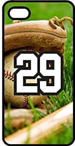 Baseball Sports Fan Player Number 29 Black Plastic Decorative iphone 6 4.7 Case