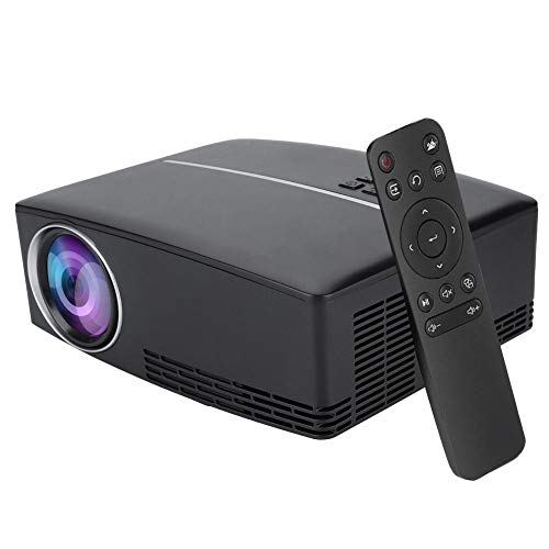 4K Home Theater Projector, 4Kx2K Pocket Projector Ultra HD HDMI Media Player, Built-in 5W Loud Speaker, Multiple Media Formats Supported,Suitable for Outdoor Entertainment Venues and Home Theaters(US) from Tosuny