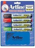 dry erase markers starter kit - Artline 517 Whiteboard Marker Starter Kit -