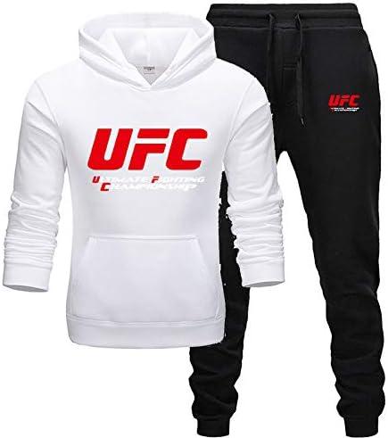 Nxddggacs Chándal UFC Moda Hombre/Mujer Ropa Deportiva Conjuntos ...