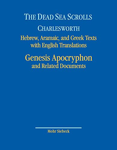 The Dead Sea Scrolls. Hebrew, Aramaic, and Greek Texts with English Translations: Volume 8A: Genesis Apocryphon and Related Documents (English, Hebrew, Aramaic and Greek Edition)
