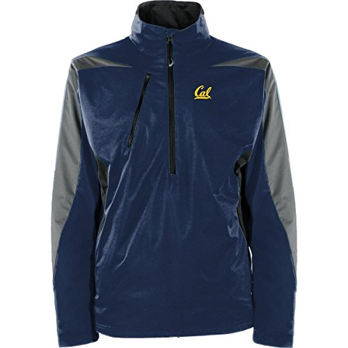 Cal Golden Bears Mens Jacket - Antigua MEN'S CAL GOLDEN BEARS DISCOVER JACKET BLUE MEDIUM