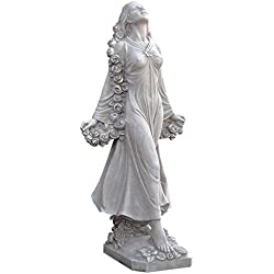 Design Toscano Flora Divine Patroness of Gardens Statue in Faux Stone