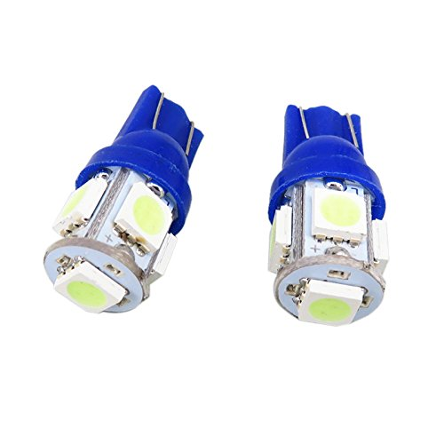 hielo azul wljh 6pcs T10/168/2825/W5/W LED bombillas 5/ /5050SMD coche luz Interior Dome lectura Panel de instrumento Cluster licencia Plate Luces Dash l/ámpara