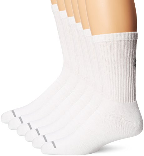Under-Armour-Mens-Charged-Cotton-Crew-Socks-6-Pack