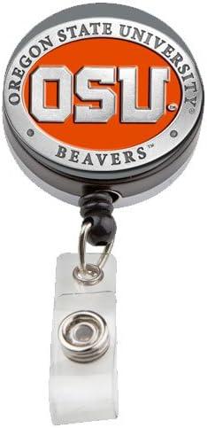 Badge Pull Beaver Badge Reel Lanyard Name Badge ID Badge Holder Belt Clip Beaver ID Badge Felt Badge Reel